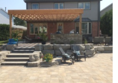 Elcon Contracting Patio