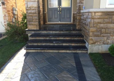 Elcon Contracting Entrance Steps & Walkways