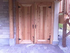 Elcon Contracting Custom Wood Doors